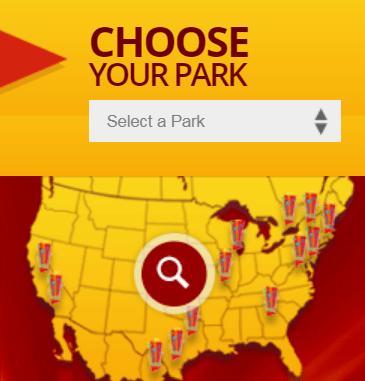 six flags choose your park