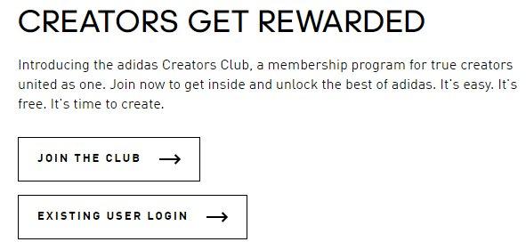 adidas creators club