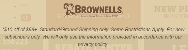 brownells discount terms and conditions