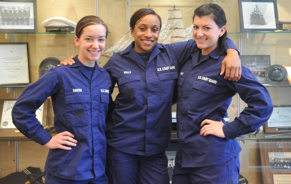 coast guard pt test requirements for females