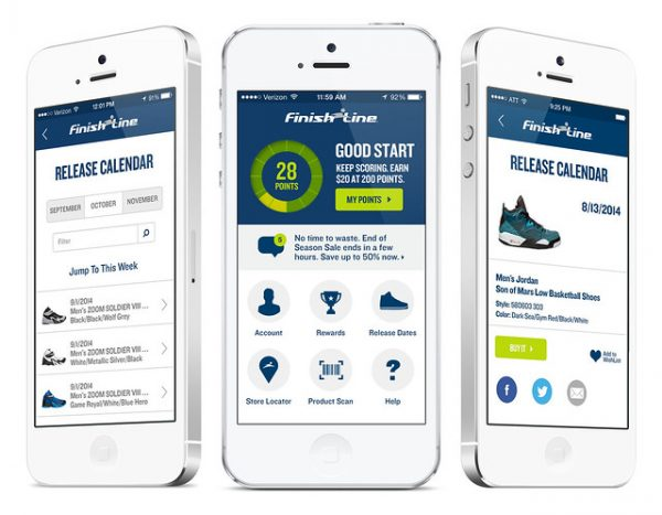 finish line loyalty program app