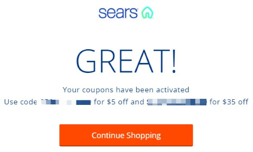 sears military discount coupon code