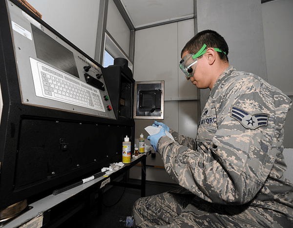 Air Force Nondestructive Inspection Specialist
