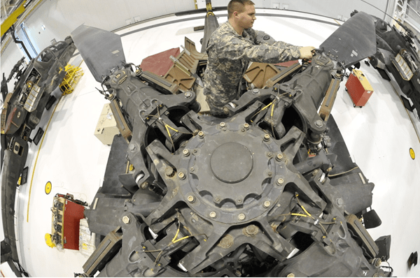 Army AH-64 Attack Helicopter Repairer