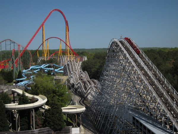 kings dominion theme park