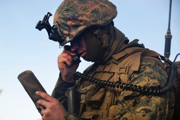 army radio operator
