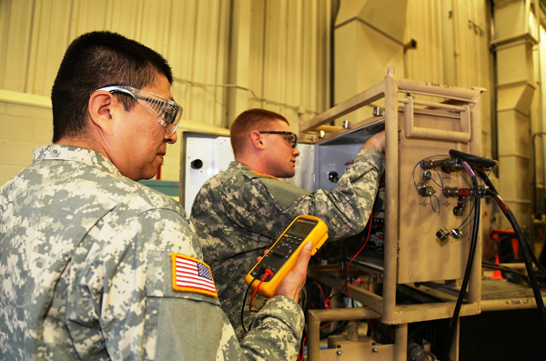 Army Quartermaster and Chemical Equipment Repairer (MOS 91J)