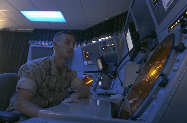 Marine Air Traffic Controller