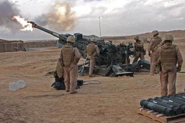 Marine Corps Field Artillery Cannoneer - MOS 0811