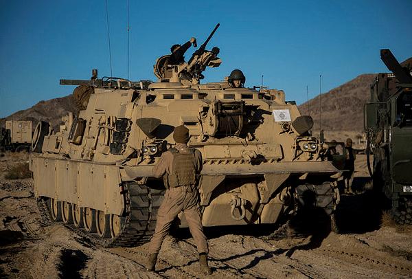 Marine Corps M1A1 Tank Crewman MOS 1812