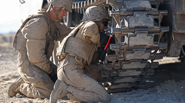 Marines AAV Crewman