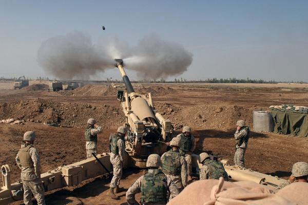 field artillery fire control man