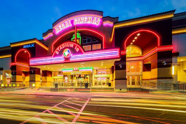 regal cinemas exterior