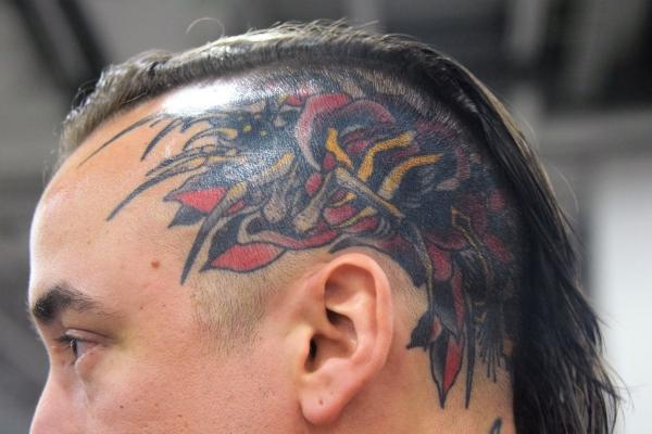 coast guard face tattoos