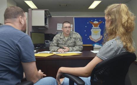 military recruiter lies