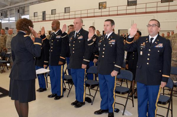 Army Warrant Officer School Graduation
