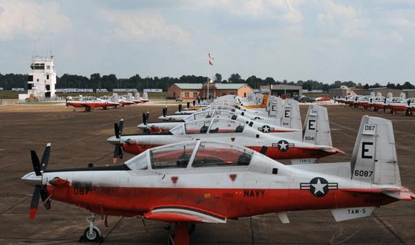 Navy Pilot T6 Texan II