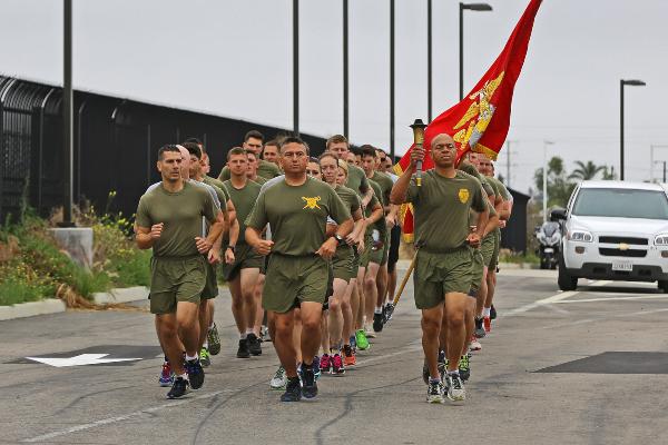 marine infantry training