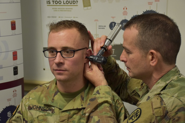 military hearing test