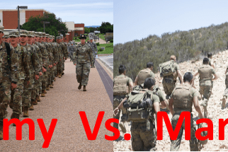 army vs marines