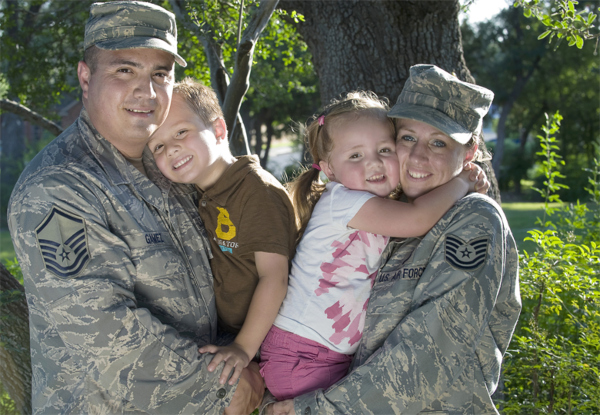 best air force bases for families
