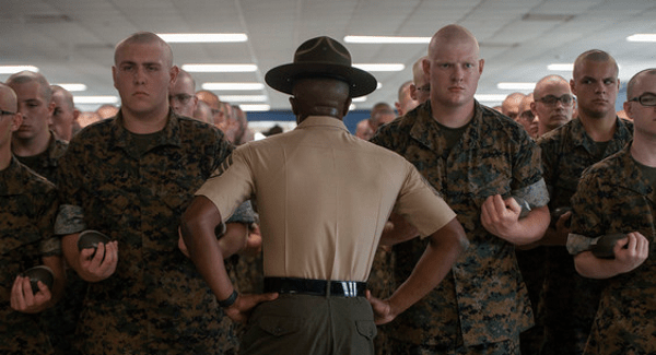 getting ready for marine boot camp