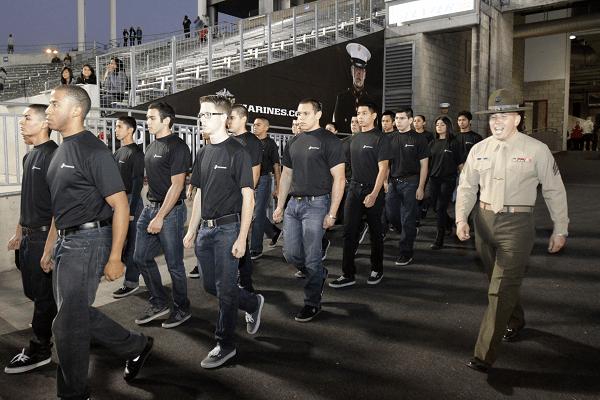 USMC Recruits close to receiving their first of the USMC Bonuses