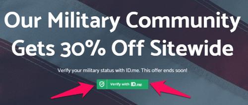 bear mattress military discount