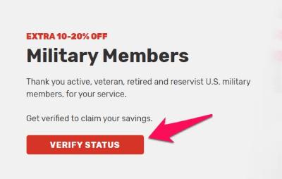 mattress firm military verify