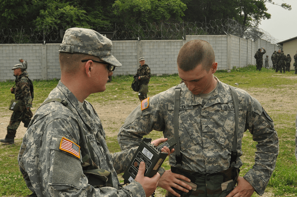 13D MOS Specialist Stationed at Headquarters