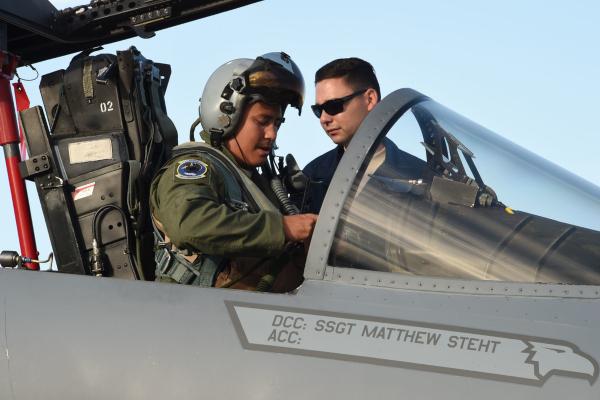 air national guard pilot