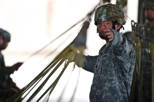 Active duty and Reserve, XVIII Airborne Corps becomes multi-component force