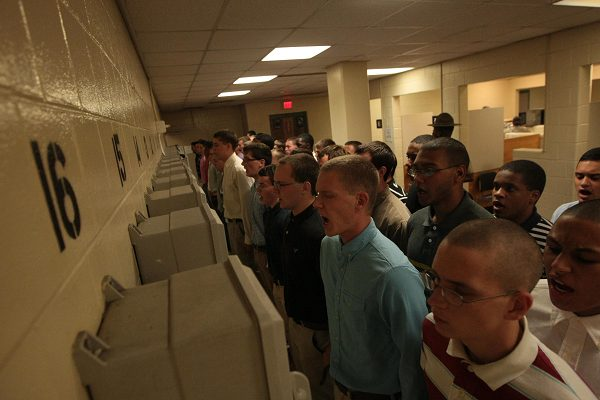 Marines survive first night at on Parris Island
