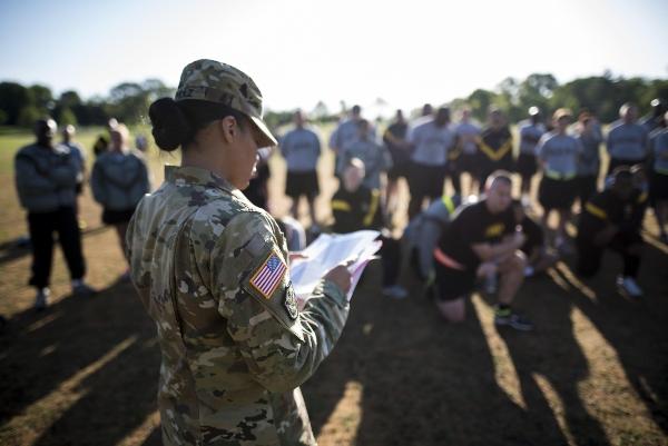 army pt test score chart