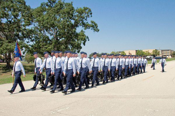 air force bmt graduation