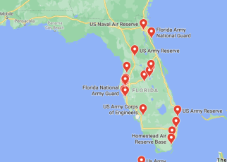 army bases in florida