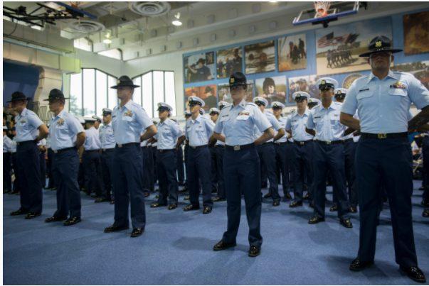 coast guard basic training graduation