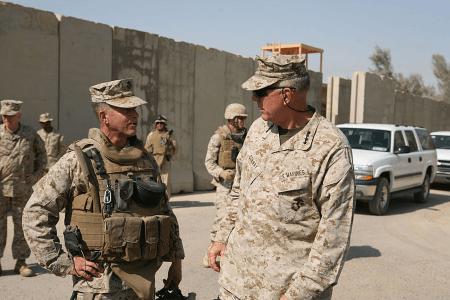 camp fallujah US army base in Iraq