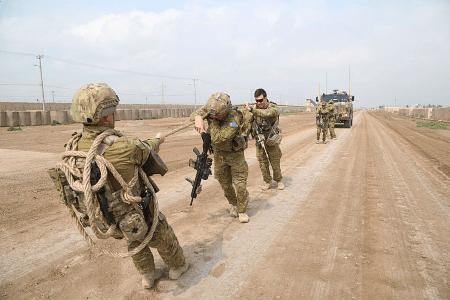 camp taji in iraq
