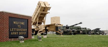 letterkenny army depot in pennsylvania