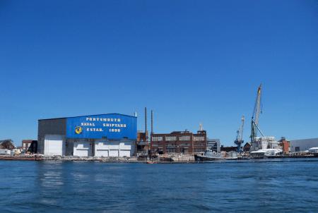 portsmouth naval shipyard - navy base in Maine