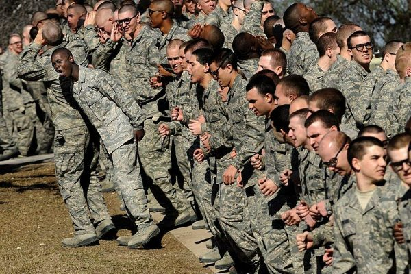 air force basic training schedule