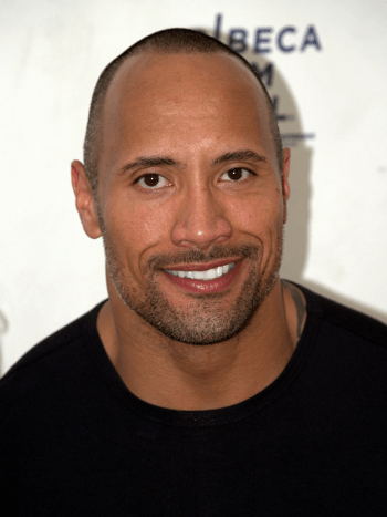 the rock did not serve in the military