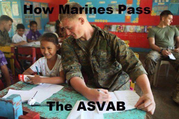 marine crayon meme