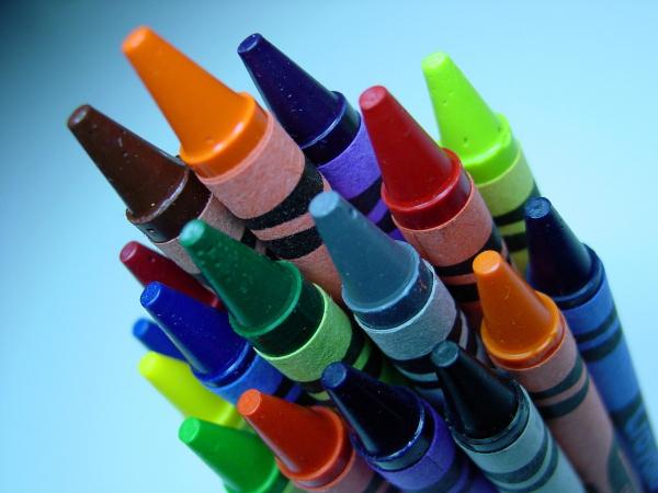 marines eating crayons
