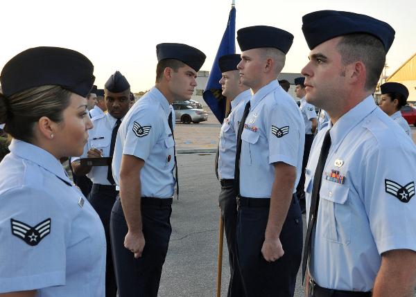 air force uniform regulation