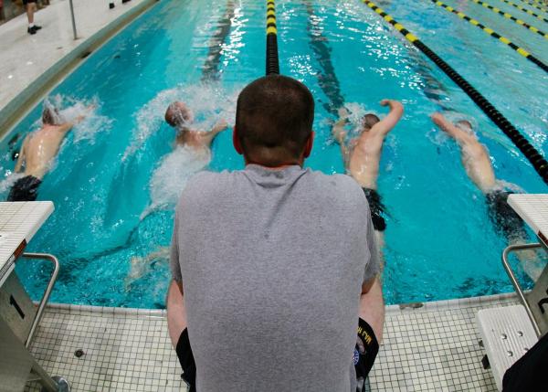 navy boot camp swim test