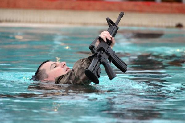 navy third class swim test
