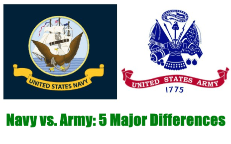 navy vs army differences