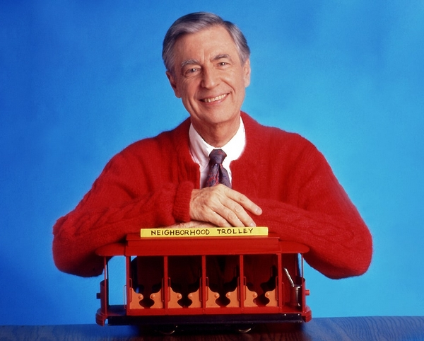 was mr rogers in the military